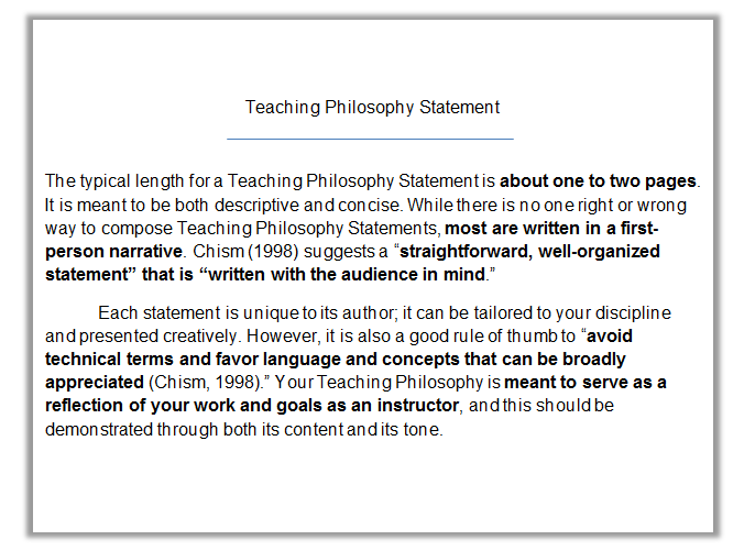 Statement of educational philosophy sample - durdgereport886.web.fc2 ...